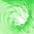 Green abstract swirls — Stock Photo