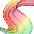 Multicolored swirl — Stock Photo