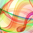 Stock Photo: Multicolored curves