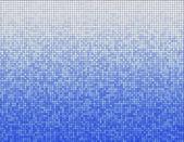 Blue mosaic pattern — Stock Photo