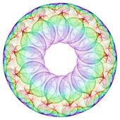 Cerchio cerchio — Foto Stock
