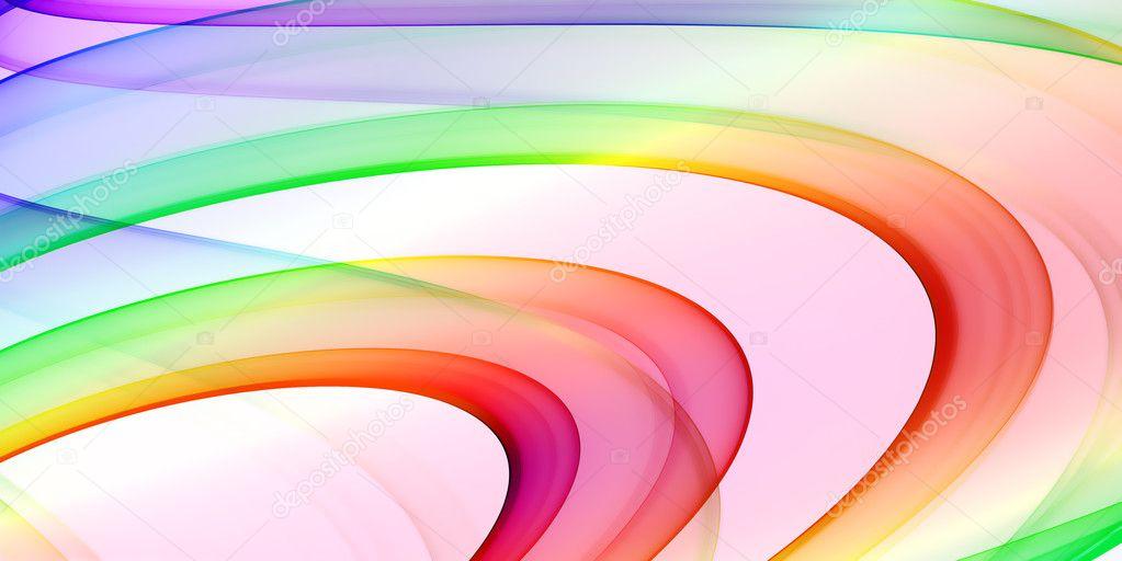 五彩��f�x�_五彩的背景-抽象主题与平滑曲线– 图库图片