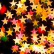 Bokeh series - stars — Stock Photo