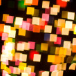 Bokeh series - squares — Stock Photo