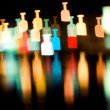 Bokeh series - bottles — Stock Photo #6960084