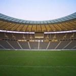 Empty stadium — Stock Photo