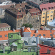 Colorful roofs of tallinn — Foto Stock