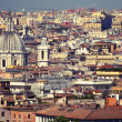 Roofs of rome — Foto de Stock
