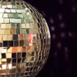 Shiny disco ball, detailed — Stock Photo
