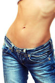 Female waist — Stock Photo