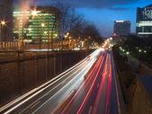Urban night view — Stock Photo