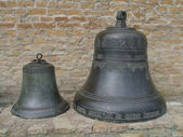 Two bronze bells — Stock Photo