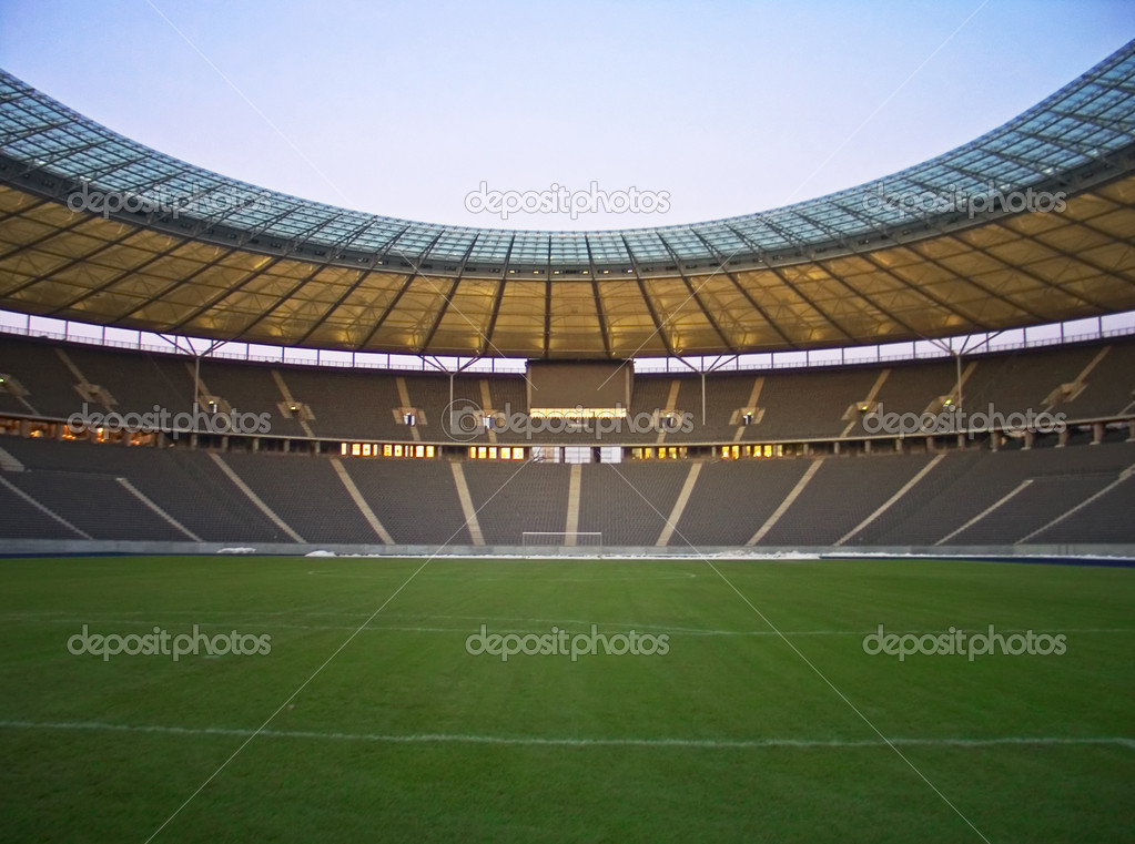 Olympic stadium in berlin, germany — Stock Photo #6960774
