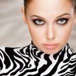 Zebra fashion — Stock Photo