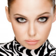 Zebra fashion — Stock Photo #7085757