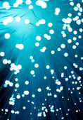 Fiber optics close-up — Stock Photo