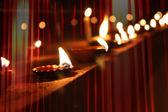 Diwali lampor — Stockfoto