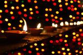 排灯节节 — 图库照片