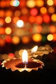 亮灯的节日 — 图库照片
