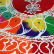 Colorful Rangoli Design - Stock Photo