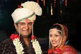 Indian Wedding Couple — Stok fotoğraf