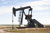 Pump jack in south central Colorado, USA — Stock Photo
