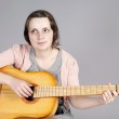 Playing the guitar — Stock Photo #7586763
