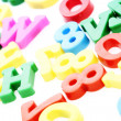 Close-up of letters. Great details ! - Stock Photo