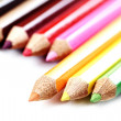 Close-up pencil. - Stock Photo
