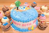 Plaża tematyce tort — Zdjęcie stockowe