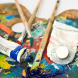 Artist's palette — Stock Photo