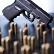 Handgun, Pistol — Stock Photo