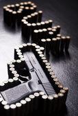 Handgun, Pistol — Stock Photo