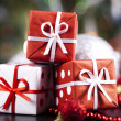 Christmas decoration, gifts — Stock Photo #7120010