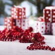 Christmas decoration, gifts — Stock Photo #7120040