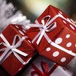 Christmas decoration, gifts — Stock Photo #7120051