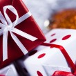 Christmas decoration, gifts — Stock Photo #7120056