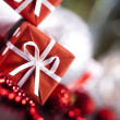 Christmas decoration, gifts — Stock Photo #7121040