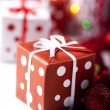 Christmas decoration, gifts — Stock Photo #7121157