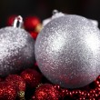 Christmas Tree Baubles - Foto Stock