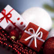 Xmas background - Foto Stock