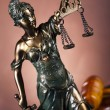 Antique statue of justice, law - Stock Photo