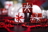 Christmas decoration, gifts — Foto de Stock