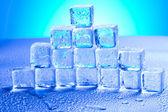 Ice background — Stock Photo
