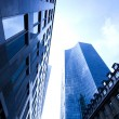 Glass skyscrapers,business center — Stock Photo #7141474