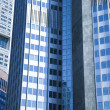 Glass skyscrapers,business center — Stock Photo