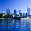 Skyline of Frankfurt - Stock Photo