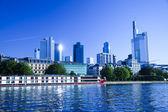 Skyline of Frankfurt — Stock Photo