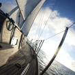 Stock Photo: Sailing boat in the sea