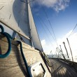 Sailing in Good Wind — Stock Photo